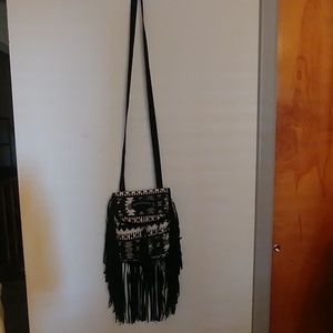 Unionbay crossbody fringe purse